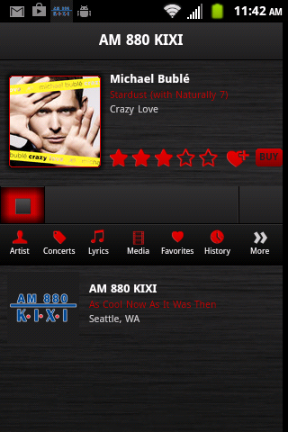 AM 880 KIXI- screenshot