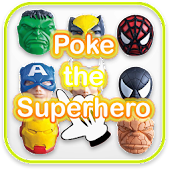 Poke the Super Hero Games