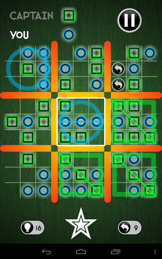 Inception Tic Tac Toe- screenshot