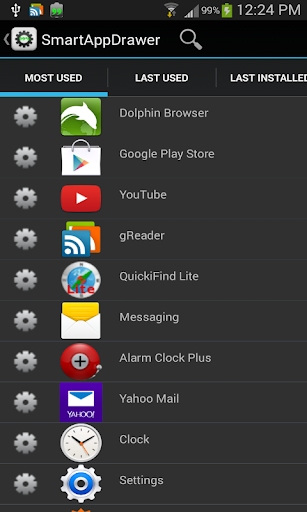 App Search Launcher Sorter