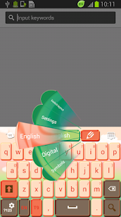 Lovely Skin for Keyboard - screenshot thumbnail