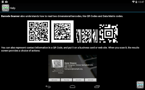 Android barcode scanner using Zxing - MySampleCode