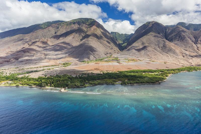 Hekili Point and West Maui Mountains in Maui.