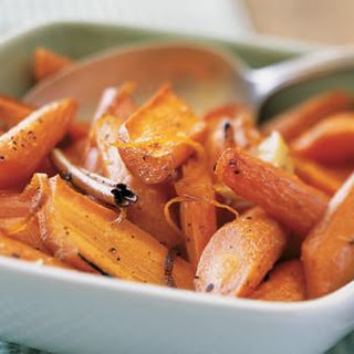 Roasted Carrots with Orange Zest and Cinnamon