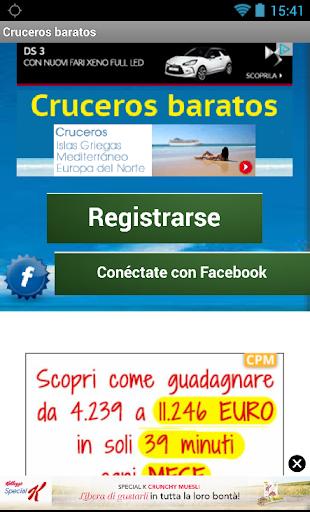 【免費旅遊App】Cruceros baratos,ofertas viaje-APP點子