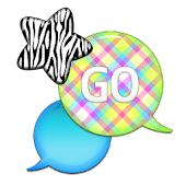 GO SMS - Zebra Star Skies 4