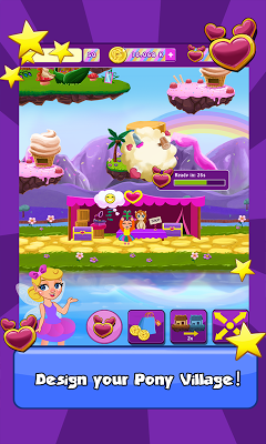 Pony Village Friendship Town - screenshot