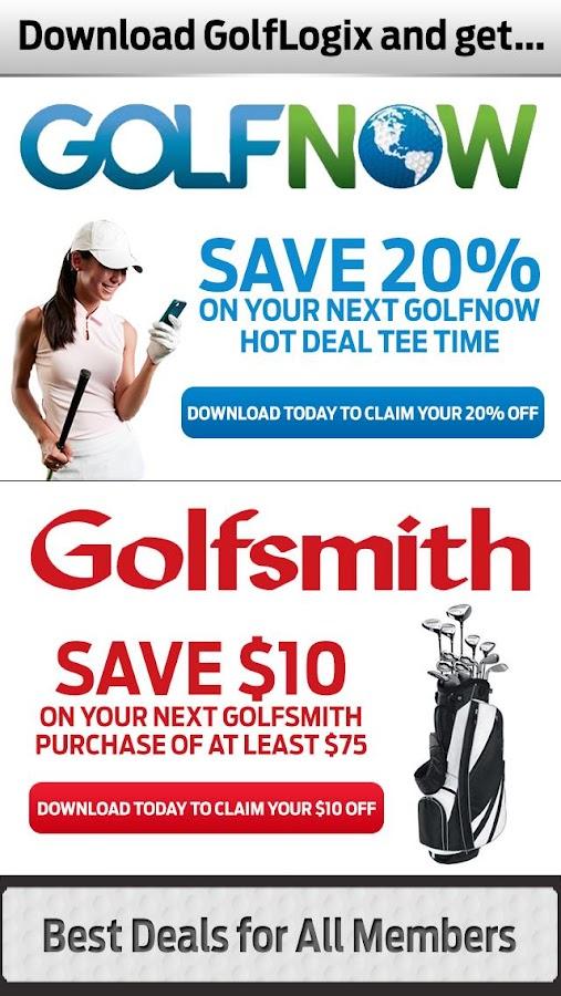 GolfLogix #1 Free Golf GPS App - screenshot
