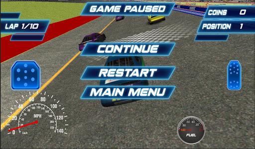 リアルな3Dレーシングカー