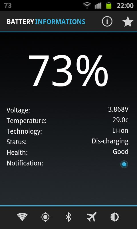 Best Battery Widget - screenshot