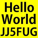 Hello world by JJ5FUG logo