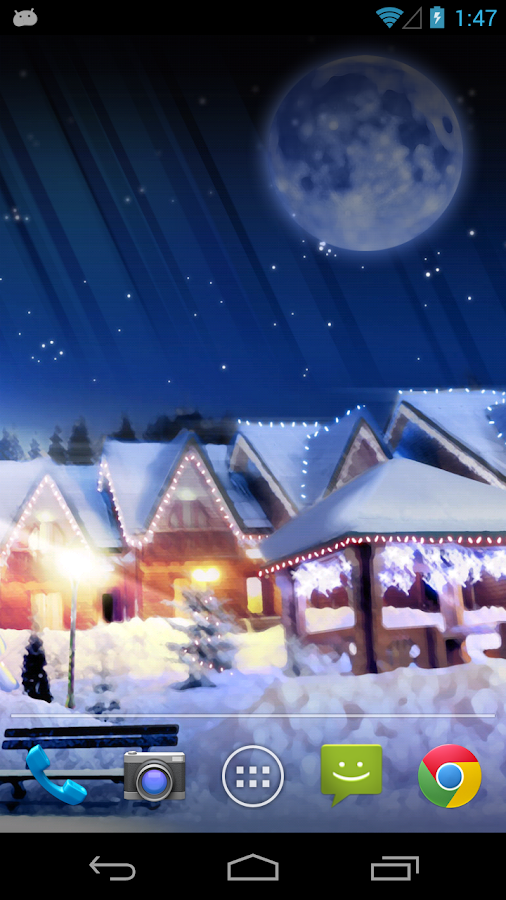 Christmas Silent Night LWP - screenshot