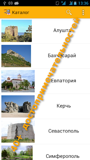 Крым Карта и Путеводитель