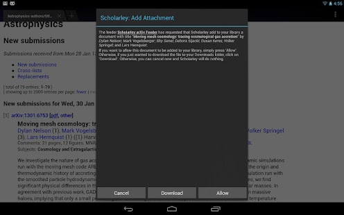 Scholarley arXiv Feeder (Beta) - screenshot thumbnail