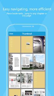 Foxit MobilePDF - PDF reader - screenshot thumbnail