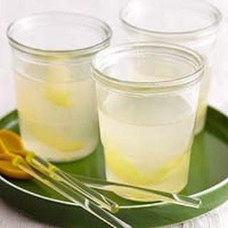 Warm Sweet & Sour Gingered Lemonade