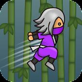 Ninja jump triangle