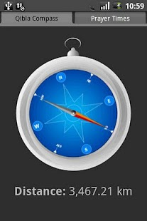 Qibla Compass- screenshot thumbnail