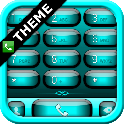 exDialer Jelly Cyan Theme