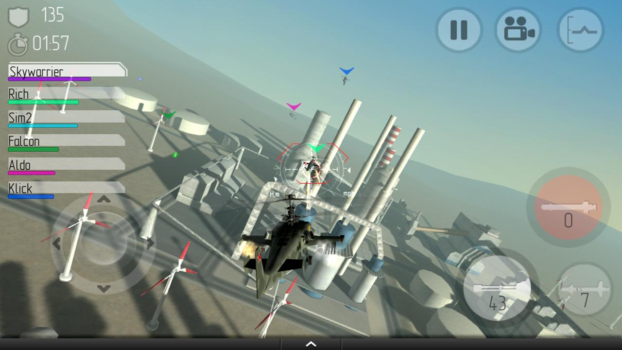 CHAOS Combat Helicopter HD №1 - screenshot