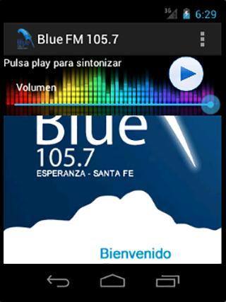Blue FM 105.7
