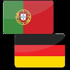 Portuguese-German offline dict icon