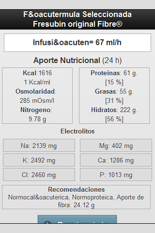 Soporte Nutricional- screenshot