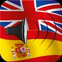 Spanish talking phrasebook icon