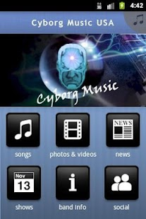 Cyborg Music ® ™ ©- screenshot thumbnail
