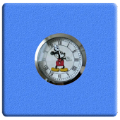 Mickey Mouse Clock Widget 2x2