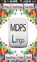 Screenshot of MDPS LINGO