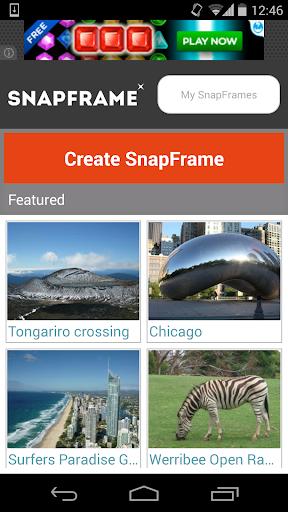 SnapFrame - Photo Frame Maker
