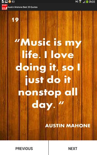 Austin Mahone Best 20 Quotes