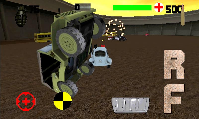 Heavy Metal Derby 3D Demoliton - screenshot