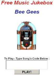 Bee Gees JukeBox - screenshot thumbnail