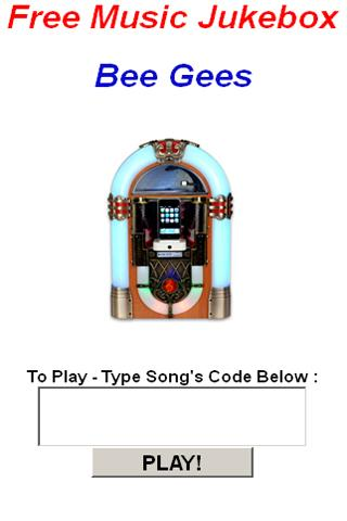 Bee Gees JukeBox - screenshot