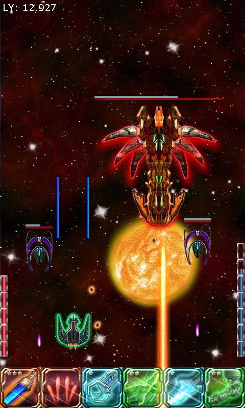 Starship Commander - Space War- screenshot