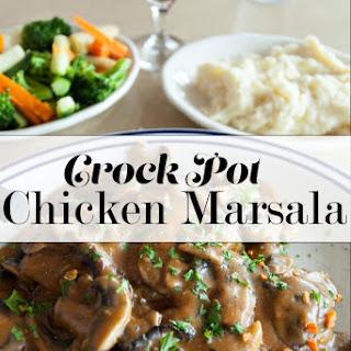 Crock Pot Chicken Marsala.