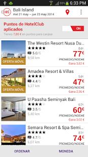 HotelClub: 70% de descuento - screenshot thumbnail