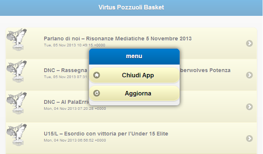 Virtus Pozzuoli Basket - screenshot thumbnail