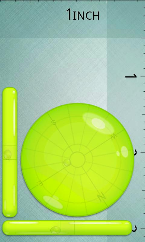 SuperBubbleLevel GreenVersion- screenshot