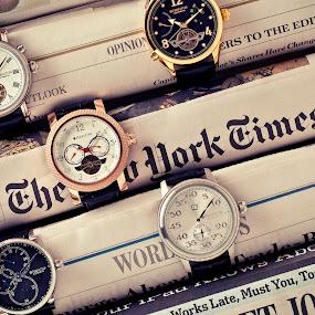 Heritor Watches by Joe Eddy - Artistic Objects Jewelry ( journal, times, watch, wrist, watches, newspaper )