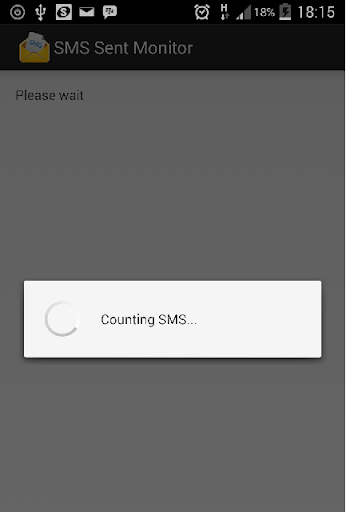 SMS Sent Counter