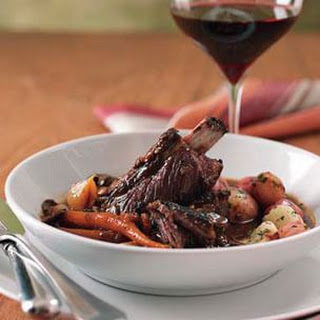Beef Bourguignonne with Steamed Potatoes