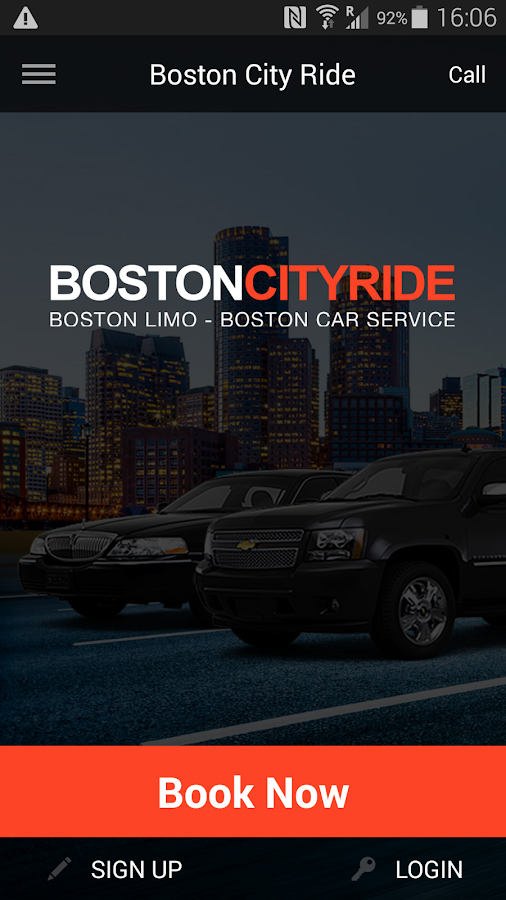 Boston City Ride Limo and Car- screenshot