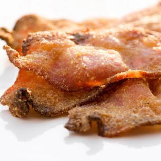 Cornmeal and Brown Sugar Crusted Bacon