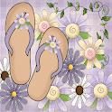 Flip Flops Lavender GO THEME