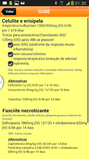 GABE - Guia de Antibióticos