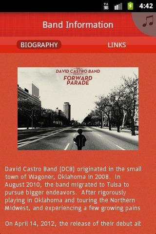 David Castro Band - screenshot