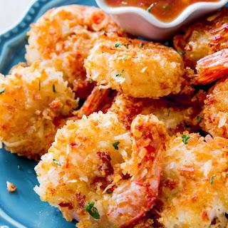 Easy Coconut Shrimp.